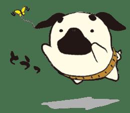 Maro Pug sticker #627727