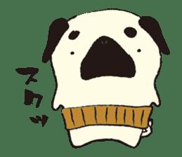 Maro Pug sticker #627728