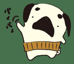 Maro Pug sticker #627729