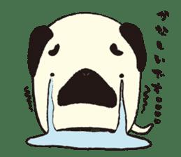 Maro Pug sticker #627731