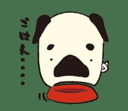 Maro Pug sticker #627734