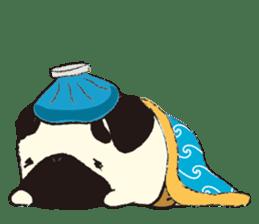 Maro Pug sticker #627735