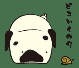 Maro Pug sticker #627736