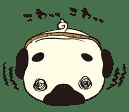 Maro Pug sticker #627738