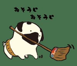 Maro Pug sticker #627739