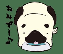 Maro Pug sticker #627742