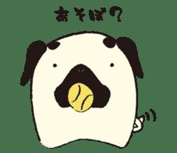Maro Pug sticker #627747