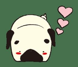 Maro Pug sticker #627749