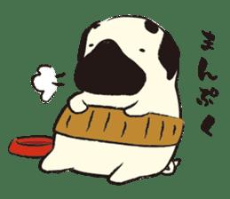 Maro Pug sticker #627750