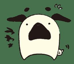 Maro Pug sticker #627756