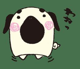 Maro Pug sticker #627757