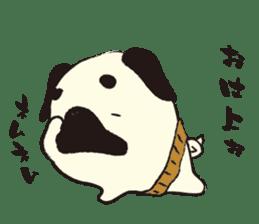 Maro Pug sticker #627758
