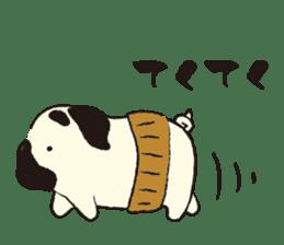Maro Pug sticker #627760