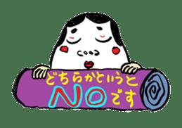 """Okame"" and ""Hyottoko"" sticker #627987"