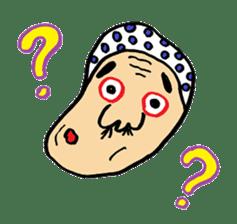"""Okame"" and ""Hyottoko"" sticker #627996"