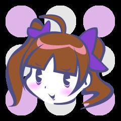 kawaii Princess of Sticker