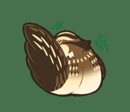 Coturnix japonica SHIJIMI sticker #628809
