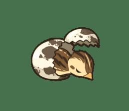 Coturnix japonica SHIJIMI sticker #628812
