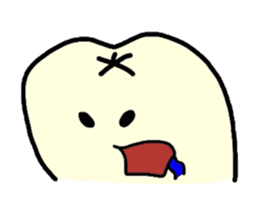 Sticker of cute tooth(ver without words) sticker #629222