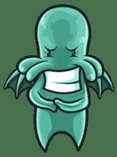 Little Cutethulu sticker #629417
