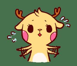 deer & penguin sticker #629883