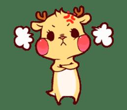 deer & penguin sticker #629886