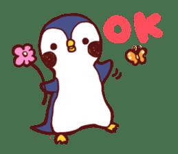 deer & penguin sticker #629894