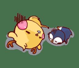 deer & penguin sticker #629900