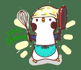 deer & penguin sticker #629903
