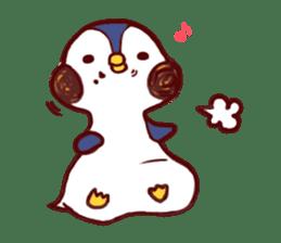 deer & penguin sticker #629905