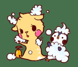 deer & penguin sticker #629912