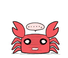 Otter and Crab sticker #629941