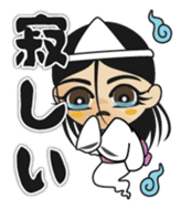 Wailing ghost of M sticker #630018