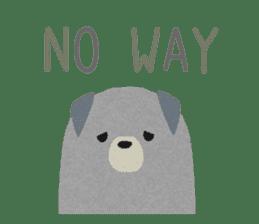 Felt Animals sticker #630130