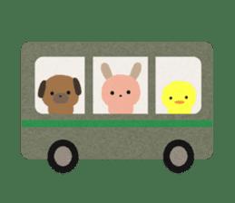Felt Animals sticker #630157
