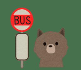 Felt Animals sticker #630159