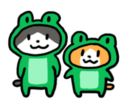 Two cats sticker #631220