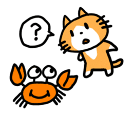 Two cats sticker #631221