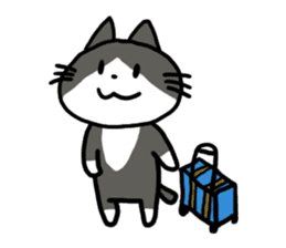Two cats sticker #631238
