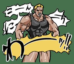Let's talk macho! sticker #632091