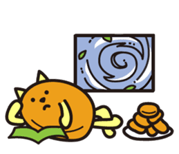 Croquette and Typhoon sticker #632849