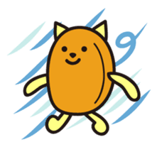 Croquette and Typhoon sticker #632851