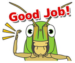 The Insect World sticker #633082