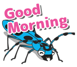 The Insect World sticker #633087