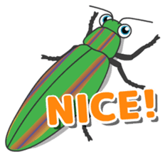 The Insect World sticker #633103