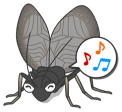 The Insect World sticker #633105