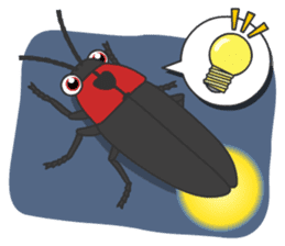 The Insect World sticker #633109