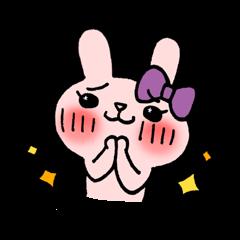 Pinky Rabbit Raby