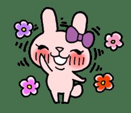 Pinky Rabbit Raby sticker #633242