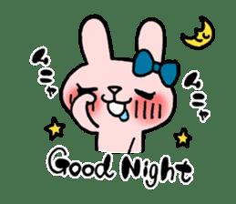 Pinky Rabbit Raby sticker #633244